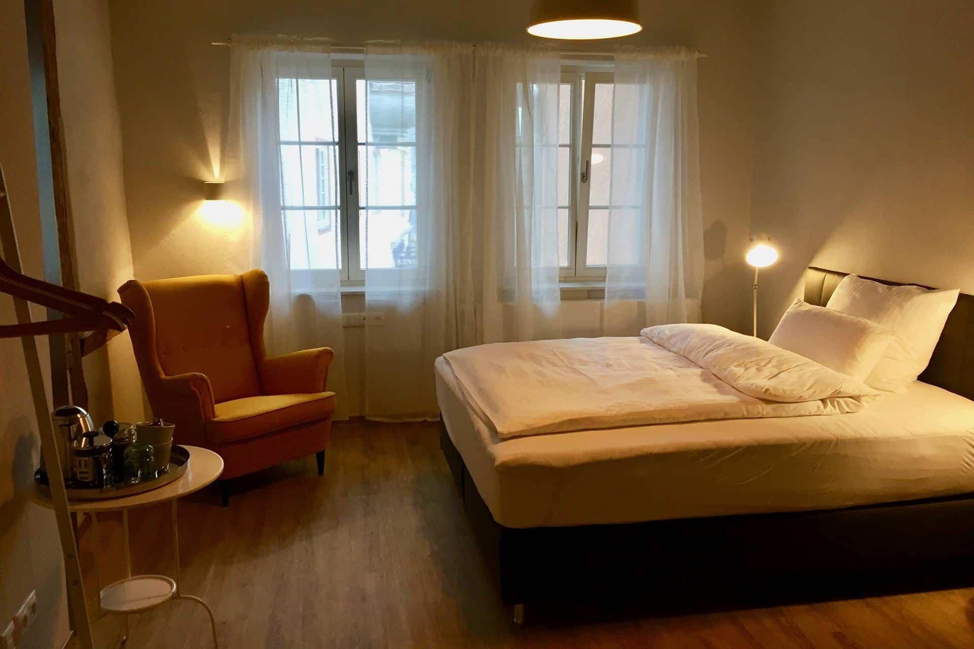 Markt 15 - Gästezimmer mit Einzelbett