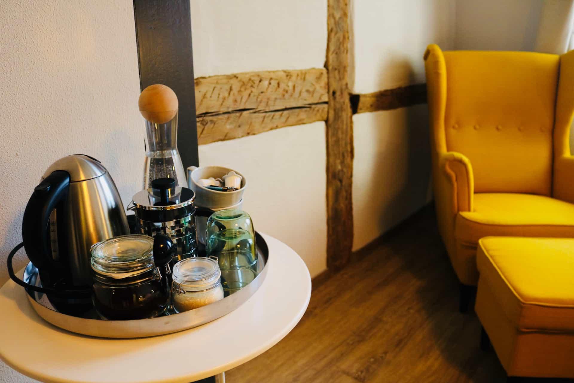Markt 15 - Kaffee-/Teezubereitung in allen Zimmern